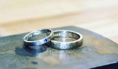 Maker made wedding rings